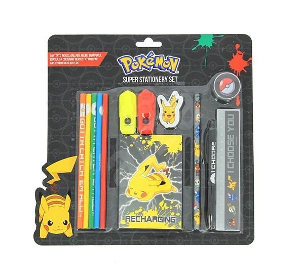 Pokémon Super Stationery Set - Kreativní sada