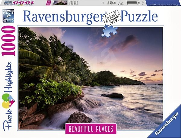Ravensburger 151561 Ostrov Praslin Seychelly - Puzzle