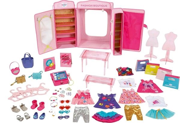 BABY Born Butik Módní obchod - Doplněk pro panenky  f43a5141a2