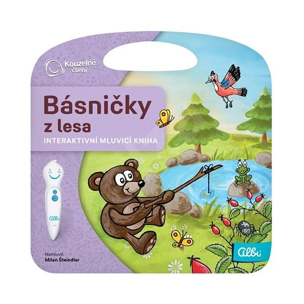 Kouzelné čtení - Básničky z lesa - Kniha pro děti