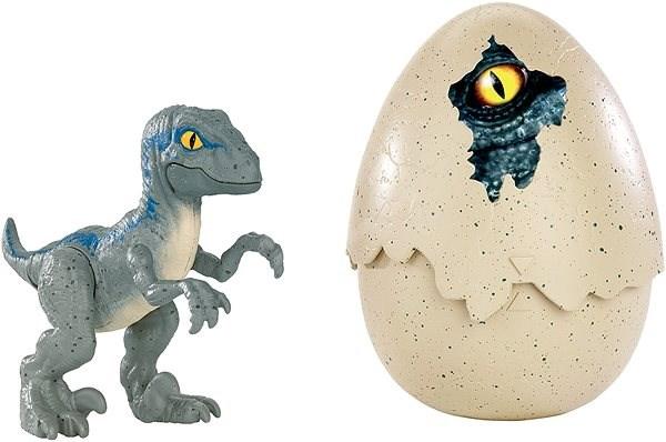 Jurassic World Dinosauříci Velociraptor Blue - Figurky