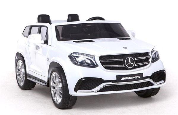 Mercedes-Benz GLS 63 bílý - Dětské elektrické auto