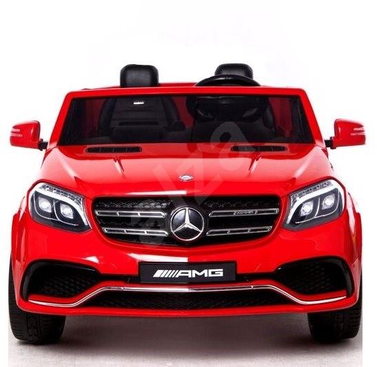 Mercedes-Benz GLS 63 červený - Dětské elektrické auto