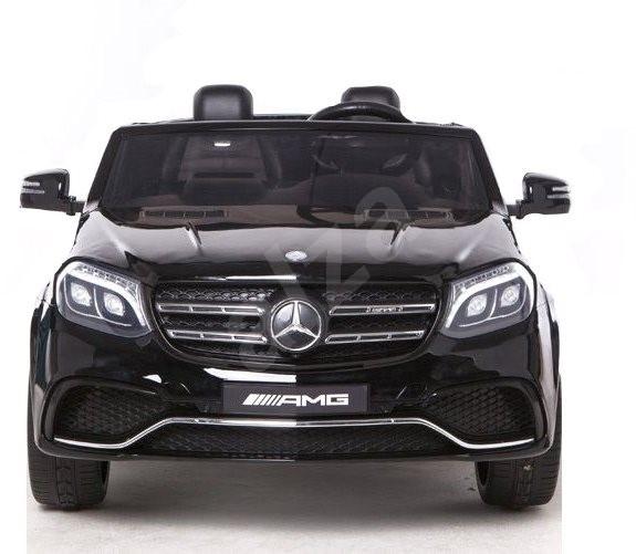 Mercedes-Benz GLS 63 černý - Dětské elektrické auto