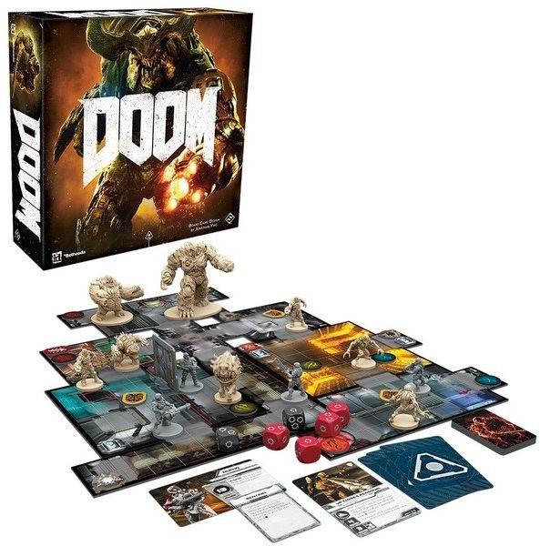 Doom: Desková hra - Desková hra