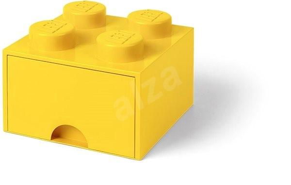 11140f970 LEGO Úložný box 4 s šuplíkem - žlutá - Úložný box | Alza.cz