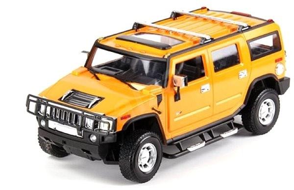 RC auto Hummer 1:24 žlutý - RC model