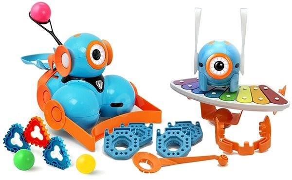 Wonder Workshop Wonder Pack (Dash, Dot a příslušenství) - Robot
