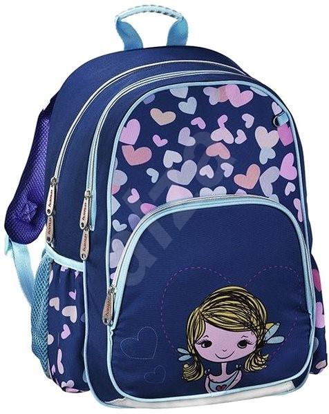Hama Holčička - Školní batoh  a9b075fcca