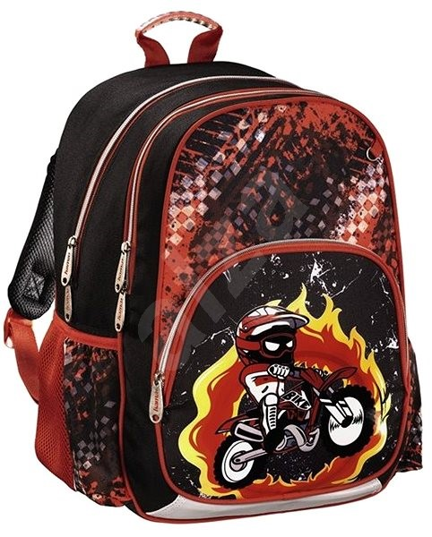 Hama Motorka - Školní batoh  80df8dd158
