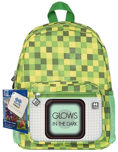 Pixie zelená kostka (svítí ve tmě) - Dětský batoh  814444aa9d