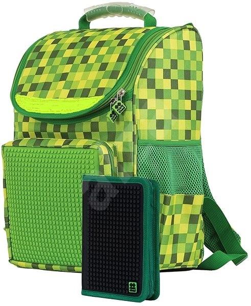 Pixie Aktovka a penál set zelená černá - Školní set  fea1182d2c