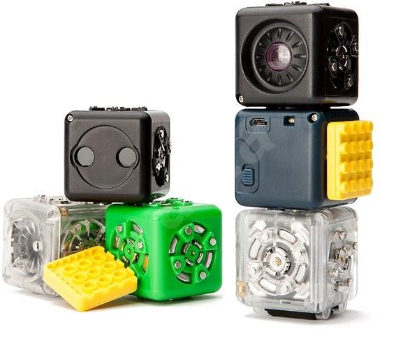 Cubelets – sada 6 kusů - Elektronická stavebnice