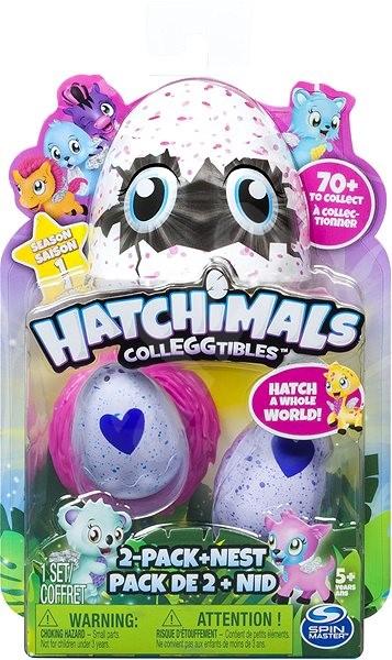 Hatchimals Sběratelská zvířátka, dvojbalení - Figurky