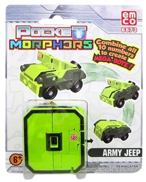 Pocket Morphers číslo 0 - figurka  41dae5fff6