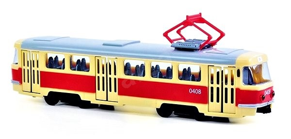 Rappa tramvaj plastová - Plastový model