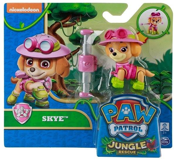 Tlapková patrola Jungle Rescue Skye s batohem - Figurka