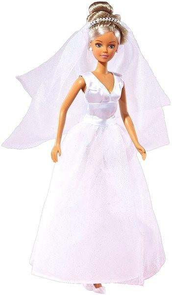 Simba Panenka Steffi Nevěsta - šaty přes ramena - Panenka