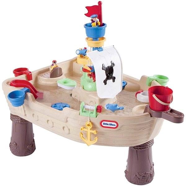 Little Tikes Vodní stůl - pirátská loď - Herní set