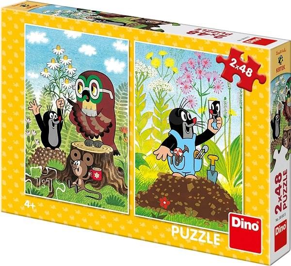 Krtek na mýtině - Puzzle