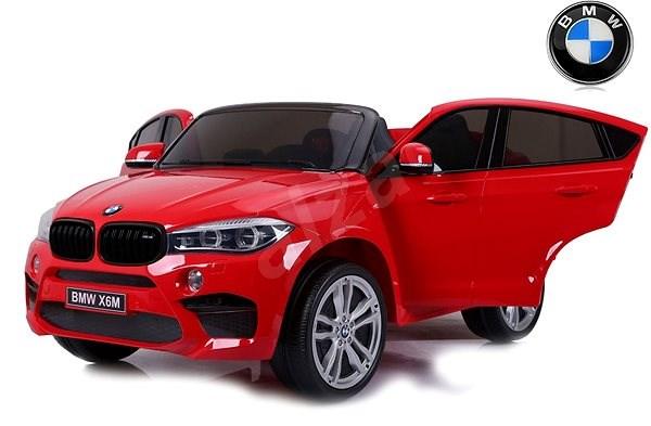 BMW X6 M červené - Dětské elektrické auto