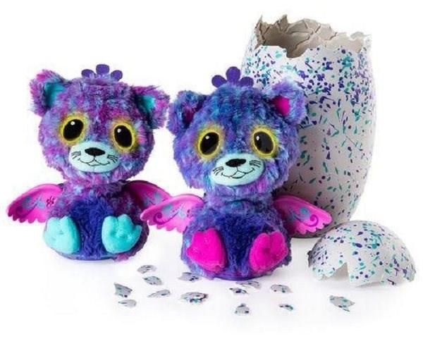 Hatchimals Surprise dvojčata kočičky - Interaktivní hračka