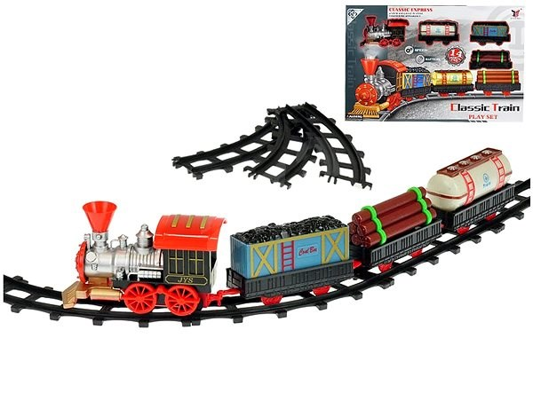 Vláček s vagóny 47cm - Vláčkodráha