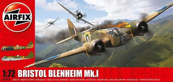 Classic Kit letadlo A04016 - Bristol Blenheim MkI (Bomber) - Model letadla