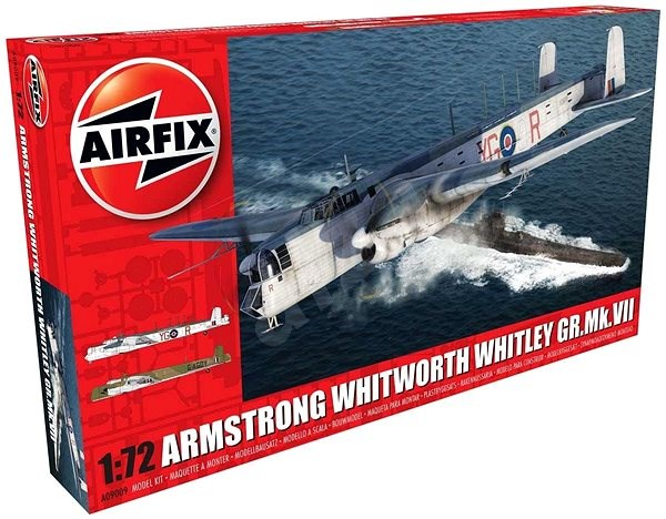 Classic Kit letadlo A09009 - Armstrong Whitworth Whitley GR.Mk.VII - Model letadla