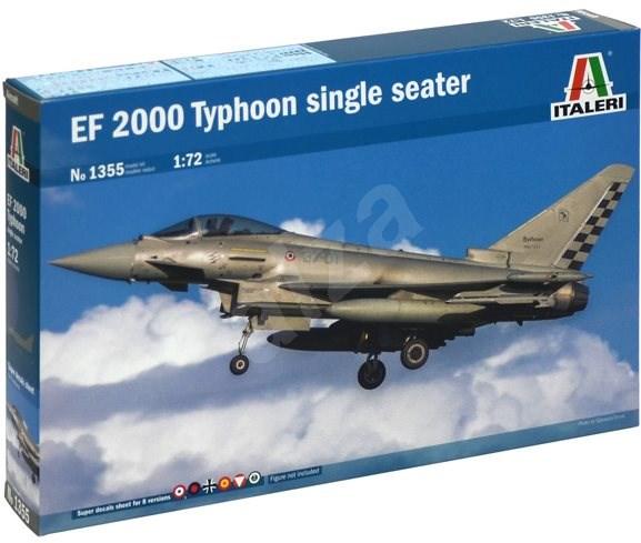 Model Kit letadlo 1355 - Ef-2000 Typhoon Single Seater - Model letadla