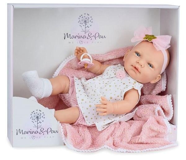 Marina & Pau 1612-K Panenka s dečkou - miminko New Born holčička - Panenka