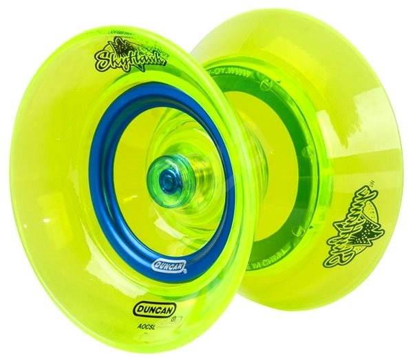 Yoyo SkyHawk - reflexně-zelené s modrým pruhem - Jojo