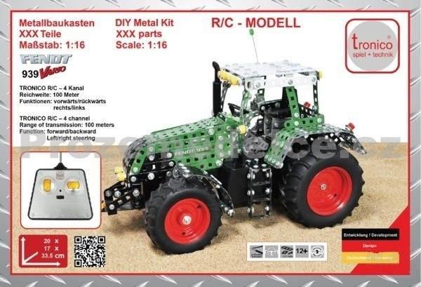 TRONICO Junior Fendt 939 - Traktor - Stavebnice