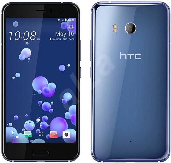HTC U11 Amazing Silver - Mobilní telefon