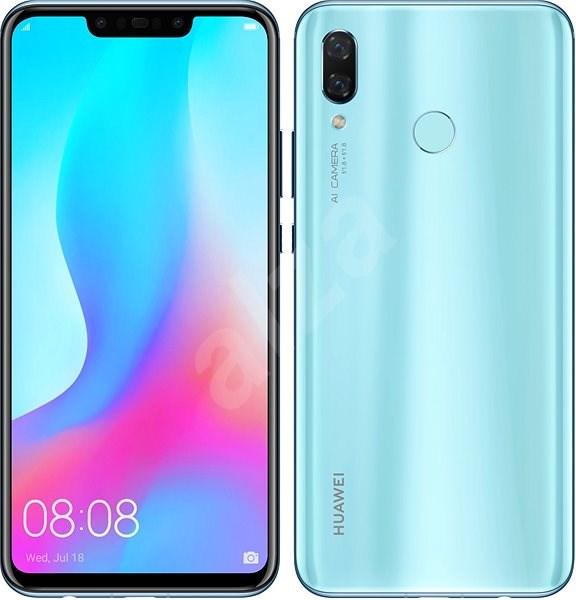 HUAWEI nova 3 modrý - Mobilní telefon