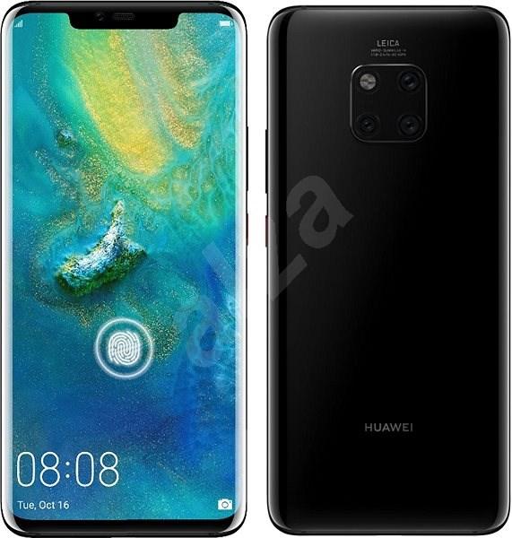 HUAWEI Mate 20 Pro černá - Mobilní telefon