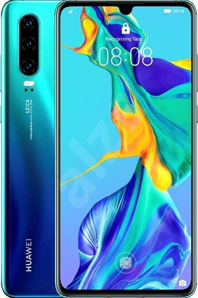HUAWEI P30 Gradient Blue - Mobile Phone