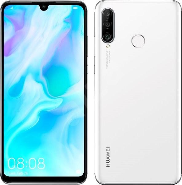 HUAWEI P30 Lite gradient white - Mobile Phone