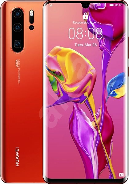 HUAWEI P30 Pro 128GB gradient red - Mobile Phone