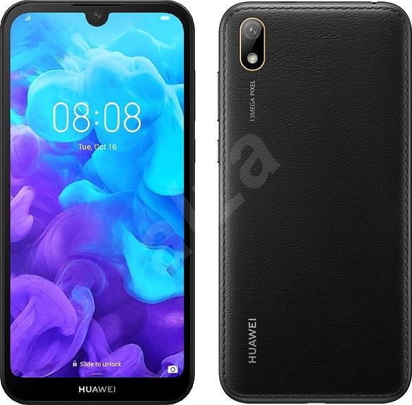 HUAWEI Y5 (2019) černá - Mobilní telefon