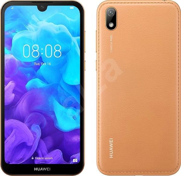 HUAWEI Y5 (2019) hnědá - Mobilní telefon