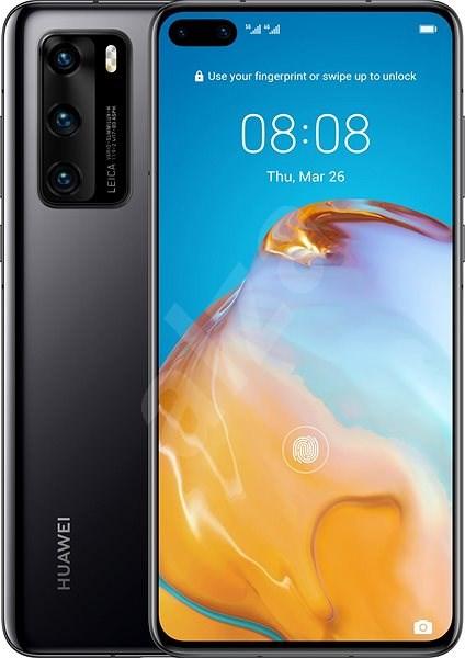 Huawei P40 černá - Mobilní telefon