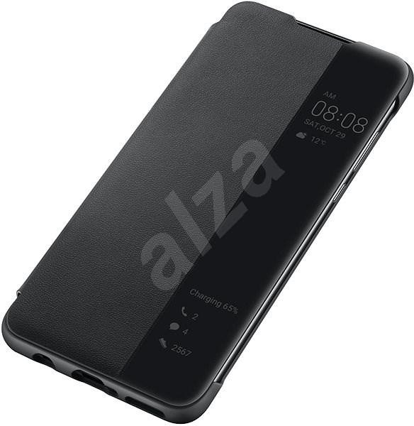 Huawei Original S-View Pouzdro Black pro P30 Lite  - Pouzdro na mobilní telefon