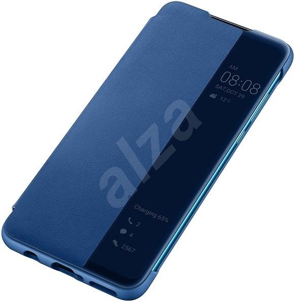 Huawei Original S-View Pouzdro Blue pro P30 Lite  - Pouzdro na mobilní telefon
