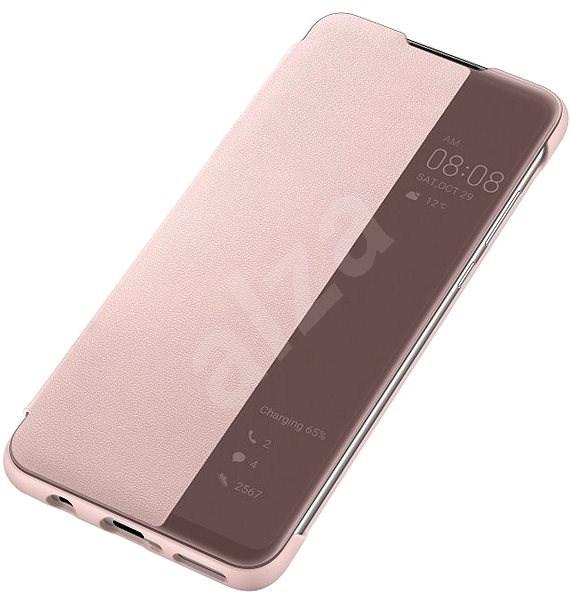Huawei Original S-View Pouzdro Pink pro P30 Lite  - Pouzdro na mobilní telefon