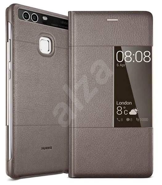 HUAWEI Smart Cover Brown pro P9 - Pouzdro na mobilní telefon  ea958c5db25
