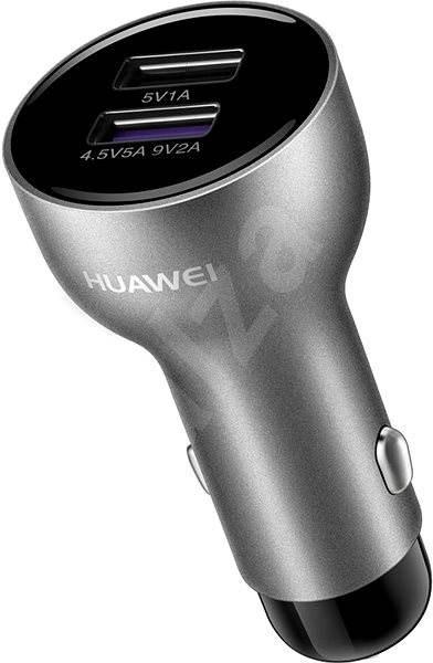HUAWEI Car Charger 5V/4.5A SuperCharge Black/Silver - Nabíječka do auta