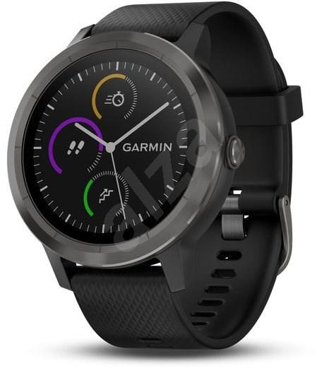 Garmin vívoactive 3 Black Slate PVD - Chytré hodinky