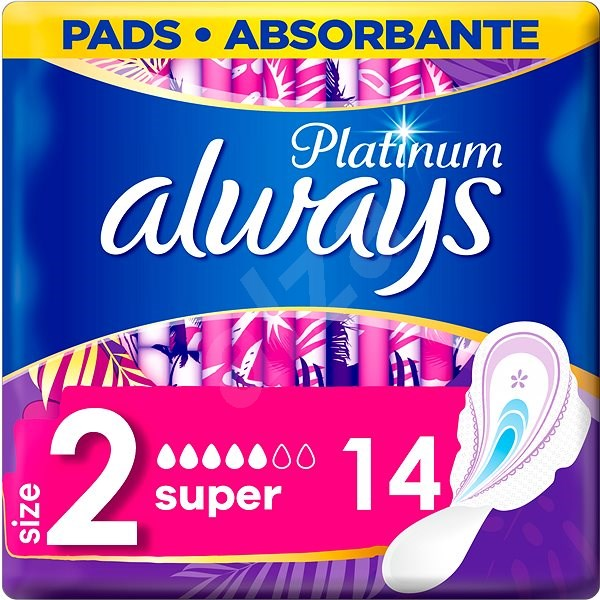 ALWAYS Platinum Ultra Super Plus Duopack 14 ks - Menstruační vložky