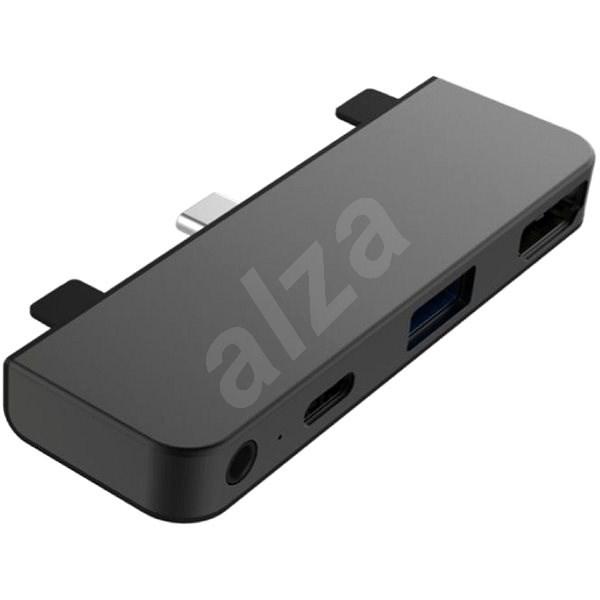 HyperDrive 4-in-1 USB-C Hub pro iPad Pro - Space Gray - USB Hub